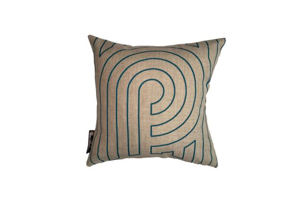 Turnabouts Marine square cushion
